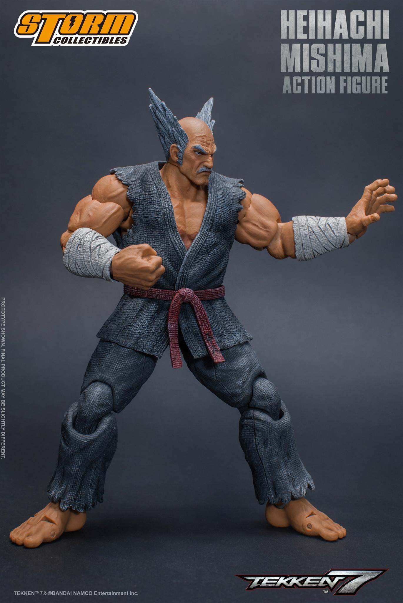 Heihachi Mishima Tekken 7 Action Figure By Storm Collectibles Now Available For Pre Order Tekkengamer