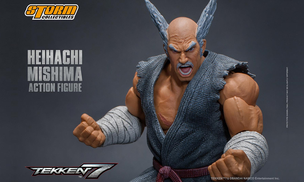 heihachi mishima tekken 7 action figure by storm collectibles now available for pre order tekkengamer heihachi mishima tekken 7 action figure