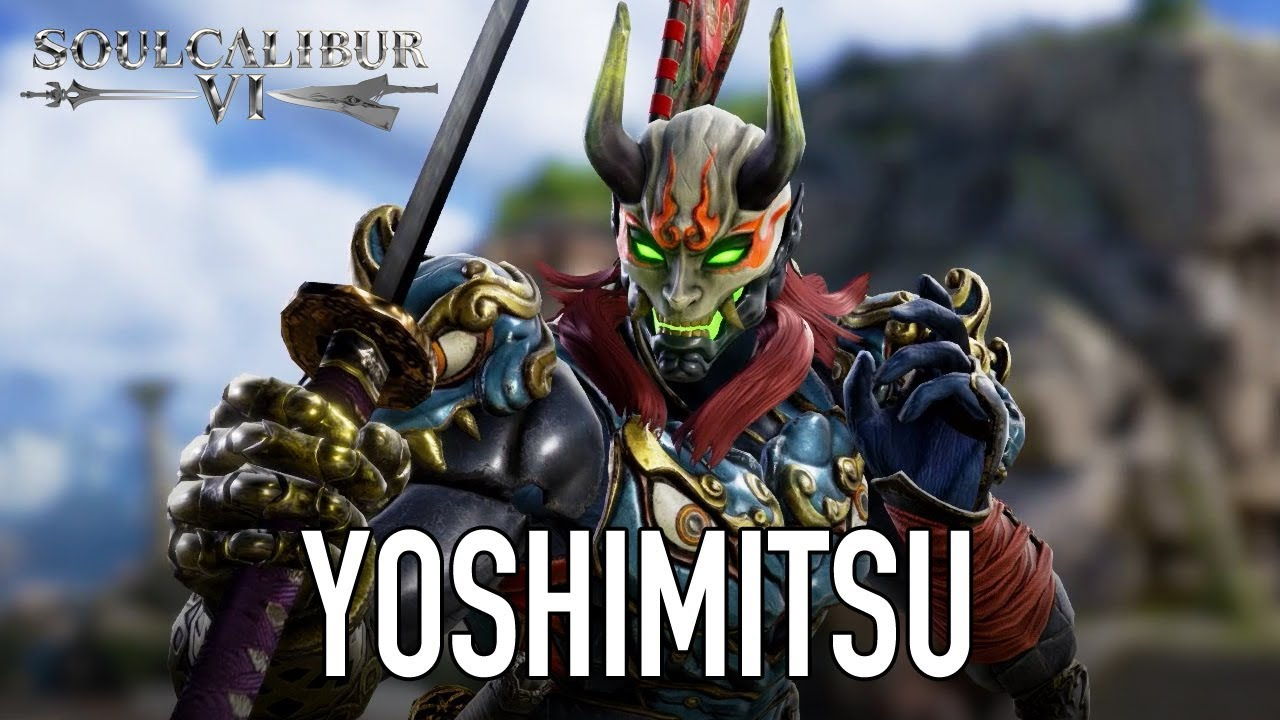 Tekken S Yoshimitsu Joining The Cast Of Soulcalibur Vi Watch The