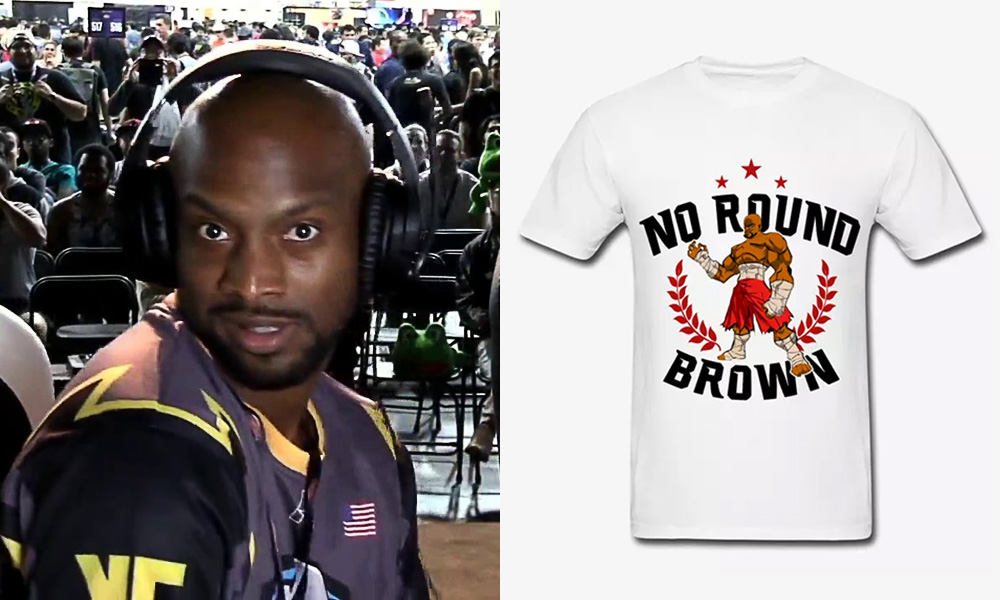 Pokchop No Round Brown Tees Available For Purchase On Newly